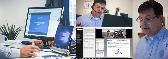 Virtual facilitation course in action - smaller