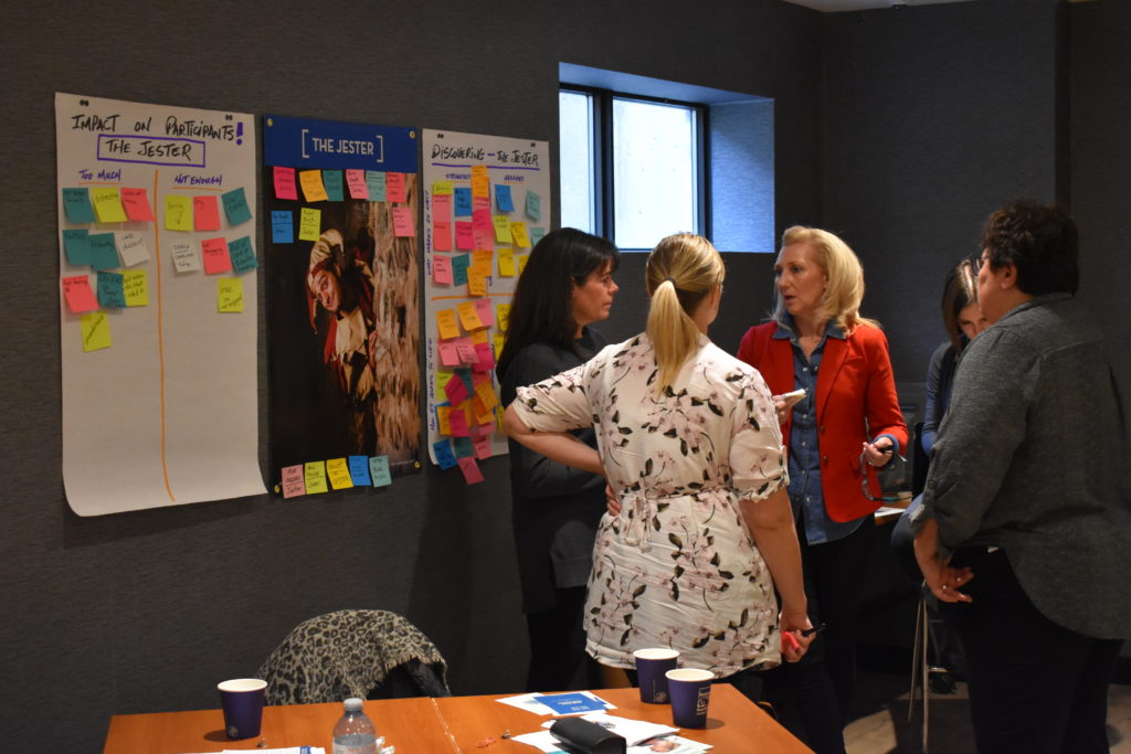 Foundations in facilitation course - Pax at Jester Poster